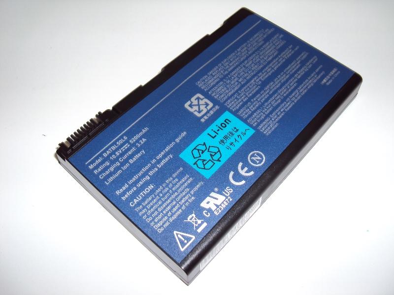 Аккумулятор для ноутбука ACER BATBL50L6