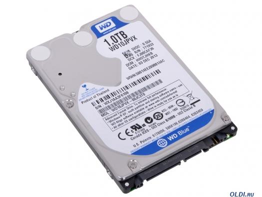 Жесткий диск 2.5 1Tb WD10JPVX