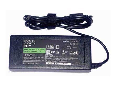Зарядное устройство для ноутбука SONY  19.5V Ток: 4.7A